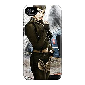 Pretty ZoNPizT9484eFmdg Iphone 4/4s Case Cover/ Jamie Chung As Amber Series High Quality Case