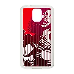 DAZHAHUI Drink brand Coca Cola sexy lady fashion cell phone case for samsung galaxy s5