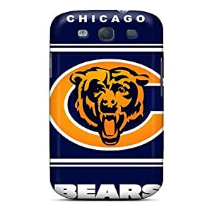 IanJoeyPatricia Samsung Galaxy S3 Scratch Resistant Hard Phone Case Support Personal Customs Attractive Chicago Bears Skin [rUv7254SgCy]