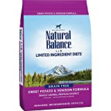 Natural Balance L.I.D. Limited Ingredient Diets Dry Dog Food, Grain Free, Sweet Potato & Venison Formula, 26-Pound For Sale