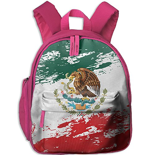 DoBag Kid's Mexican Flag Grunge School Shoulder Bag Backpack Outdoor Daypack For - Georgia Shopping Columbus
