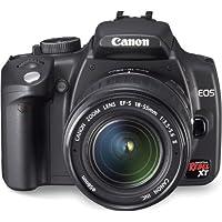 Canon EOS 350D Appareil photo numérique Reflex 8 Mpix Kit Objectif 18-55mm Noir