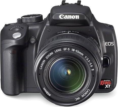 Canon EOS 350D - Cámara Réflex Digital 8 MP (Objetivo Canon EF-S ...