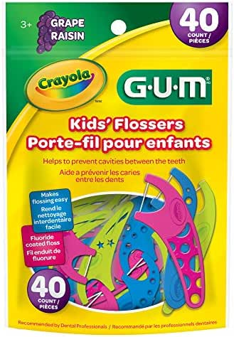 Dental Floss: Crayola Kids' Flossers