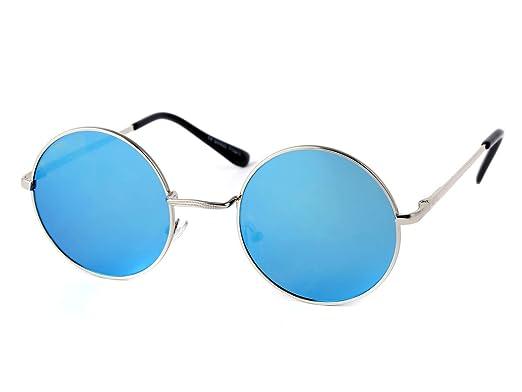 Viper: gafas de sol redondas y planas, estilo John Lennon ...