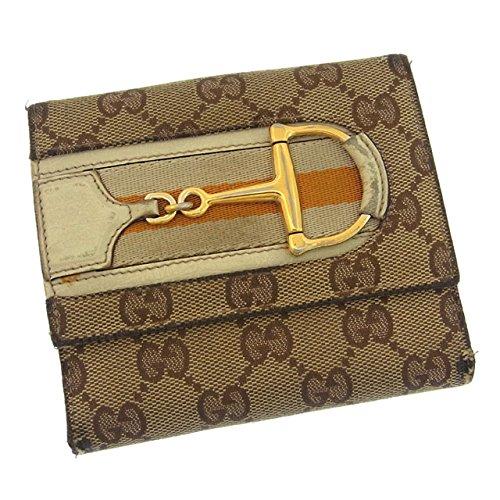 グッチ GGキャンバス×ウェビング 財布(ホック式小銭入れ付き) 138029の商品画像