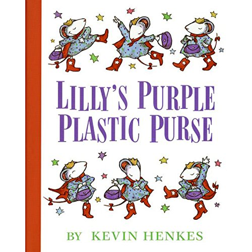 Dog Puppet Show Book - Lilly's Purple Plastic Purse