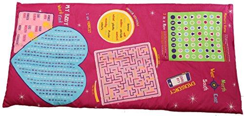 Girls - Playtime Reversible Slumber Bag - 25 Fun Interactive Games