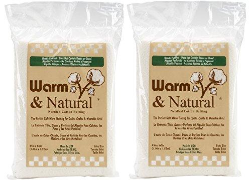 Warm Company Batting Warm & Natural Cotton Batting-Crib, 45
