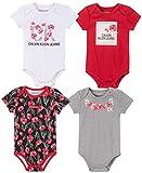 סט 4 בגדי גוף קלווין קליין לתינוקות  רק 11.76$