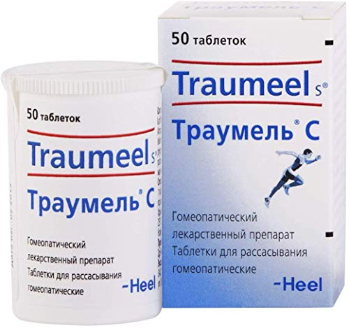2 Bottles Traumeel S Homeopathic Anti-Inflammatory Pain Relief Analgesic 100 Tablet by Traumeel