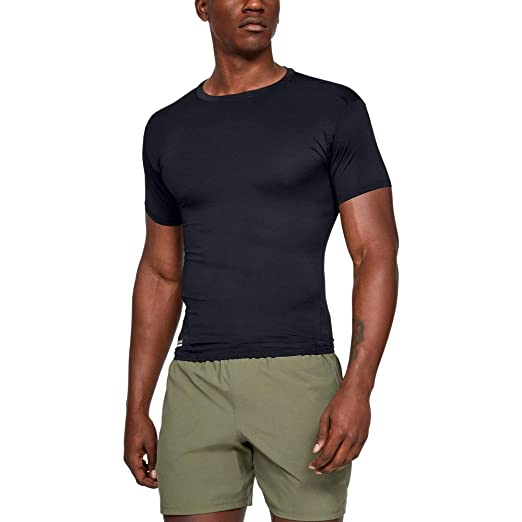 fbfc38613 Amazon.com: Under Armour Men Ua Tac Heat Gear Compression Tee: Clothing