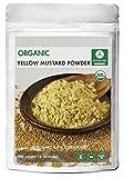 Yellow Mustard Seed Powder, 1 Pound - 100% Pure, Natural & USDA Organic Certified