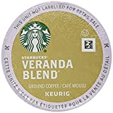 Starbucks Veranda Blend Blonde, K-Cup for Keurig Brewers, 64 Count