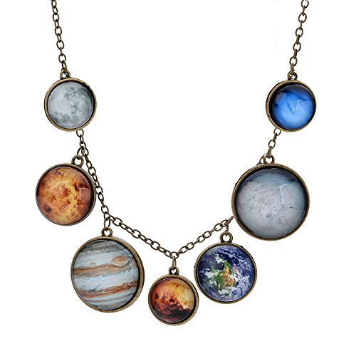 Necklaces Planet Necklace Galaxy Planets