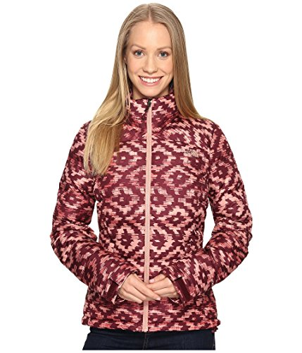 - The North Face Women's Nuptse 2 Jacket Deep Garnet Red D-Kat Print (Prior Season) Medium
