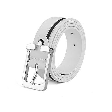Ericcay Cinturón Cinturón De Cuero Para Seguridad De Con Hombre ...