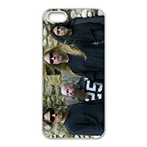 Band Slayer For iPhone 5, 5S Csae protection phone Case ST118932