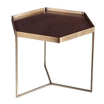 En De Hexagonal Forgé Table Canapé D'appoint Fer Aoeiuv Nordique UqMVpGLSz