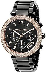 Michael Kors Women's Parker Black Watch MK5885