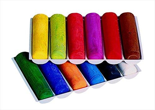 Prang 001440 Non-Toxic Sidewalk Chalk44; Set Of 12 by PRANG