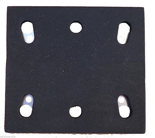 Mutitoolpro Replacement 1/4 Sheet Sander PSA Pad Backing Plate For Makita 158324-9 BO4556 Finish Replacement PSA Backing Makita BO4556 Fishing Sander 14000OPM (Pack of 1)