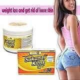 Details About Sukunai Diet Pill Fast Results + Sukunai Gel Get Rid of Loose Skin