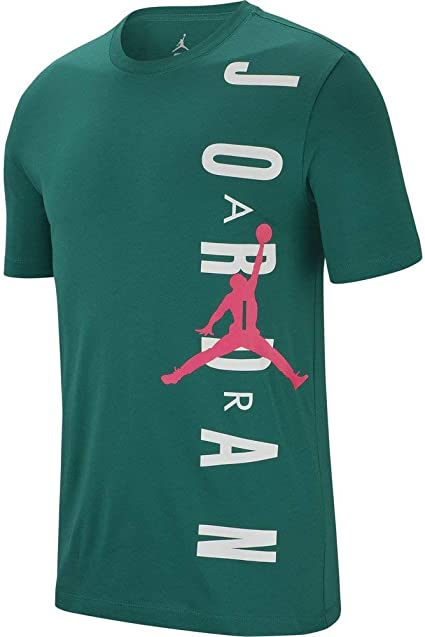 Jordan Vertical Camiseta Hombre Verde XS (X-Small): Amazon.es: Ropa y accesorios