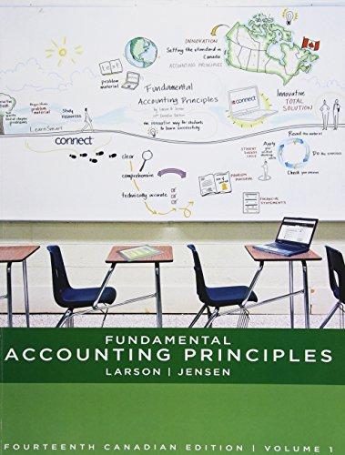 Fundamental Accounting Principles, Volume 1