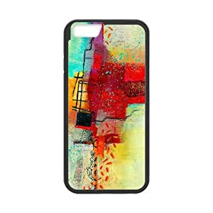 iphone6 4.7 inch Phone Case Black Abstract Painting TYTH3748103