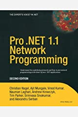 Pro .NET 1.1 Network Programming, Second Edition Paperback