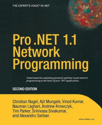 Pro .NET 1.1 Network Programming, Second Edition
