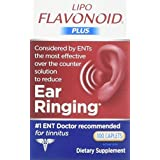 Lipo-Flavonoid Plus Dietary Supplement Ear Health, 100 Caplets (Pack of 2)