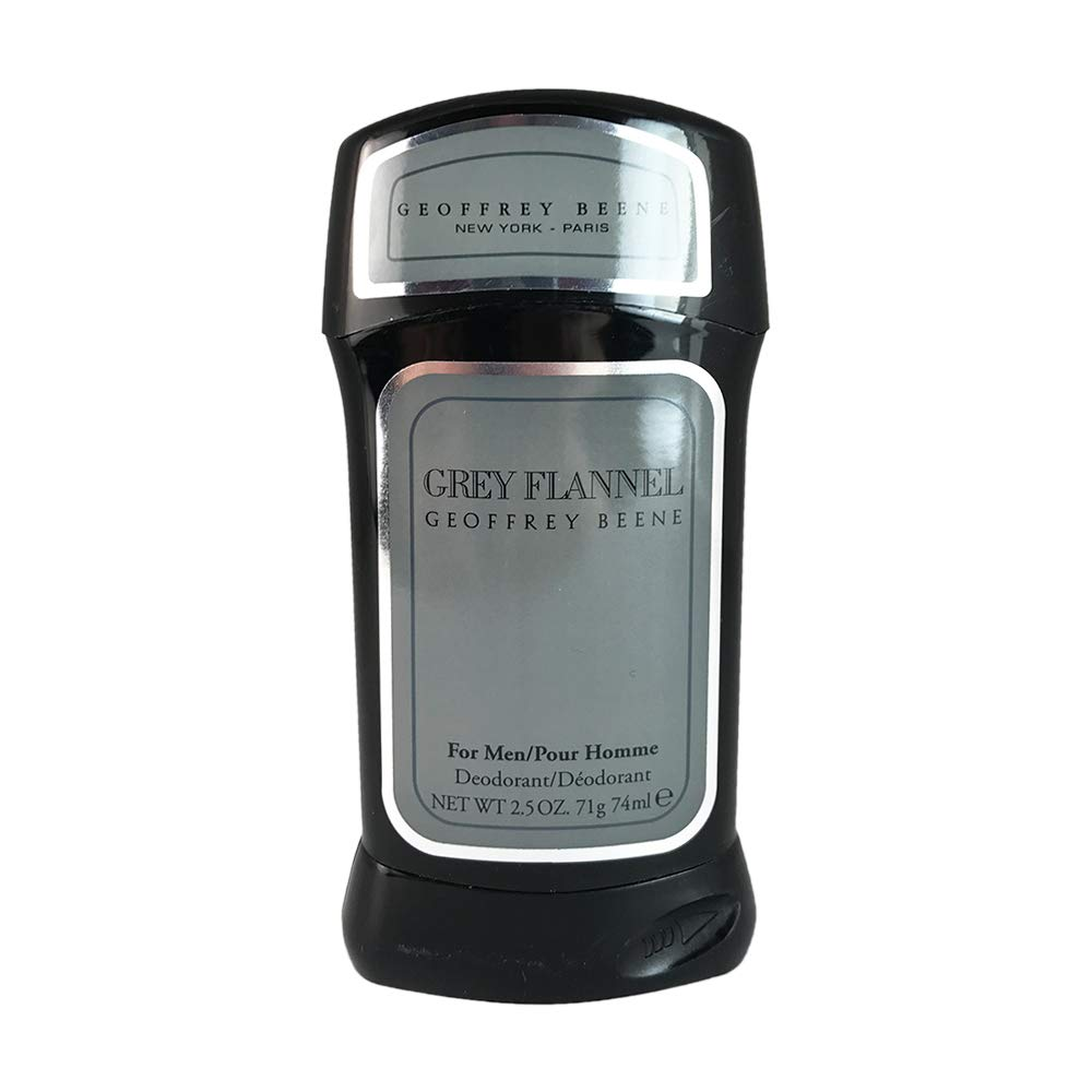 Geoffrey Beene Grey Flannel Deodorant Stick for Men, 2.5 Oz, 0.25 lb GR401M