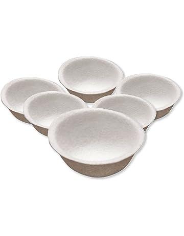 Nido de fieltro para cría canarios - 9 cm diámetro - Pack de 6 unidades