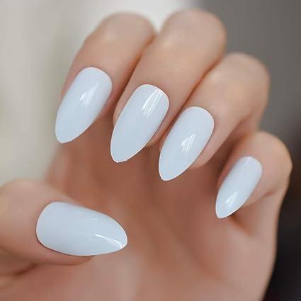 EchiQ - Adhesivo para uñas postizas, color azul claro ...