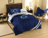 NCAA Penn State Twin Comforter, Sheets and Sham (5 Piece Bed in a Bag)
