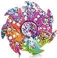 TANAINA Fidget Hand Spinner Tri Fidget Mano Dito Spinner Spin Widget Focus Giocattolo - Rotazione da 1-3 minuto - Perfetto per adulti