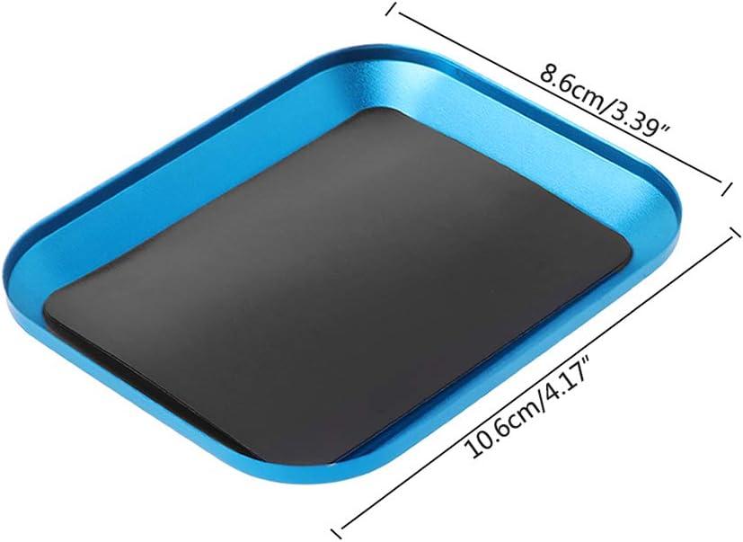 f/ür RC-Telefone Autoreparatur-Werkzeuge Magnetische Schraubenablage aus Aluminiumlegierung Lieferung.