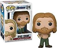 Funko Pop! Vingadores - Avengers: Endgame - Bro Thor com pizza