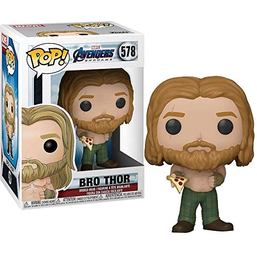 Funko- Pop Marvel Endgame-Thor w/Can Collectible Toy, Multicolor (45142)