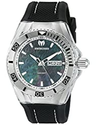 Technomarine Men's TM-115212 Cruise Monogram Analog Display Swiss Quartz Black Watch by TechnoMarine