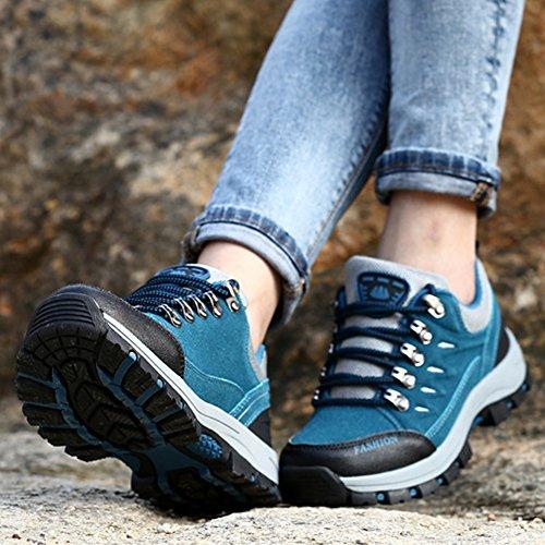 Marche Femme De Non Chaussures De Bleu Unisexe Couple Sport D'escalade Voyage Collectrices Plein Chaussures Eastlion Air En Cp11Wx