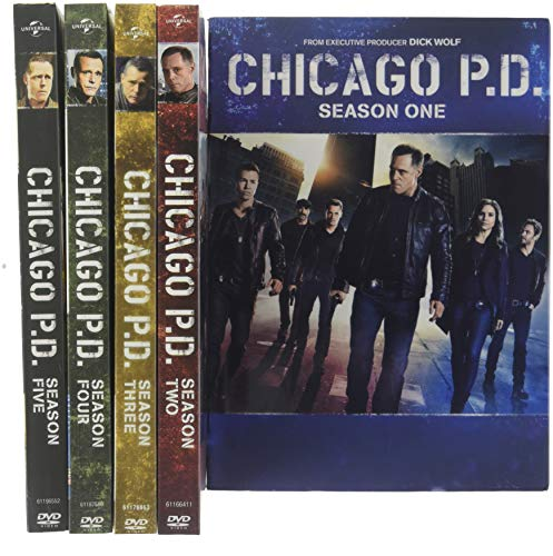 (Chicago PD: The Complete Series Seasons 1-5)