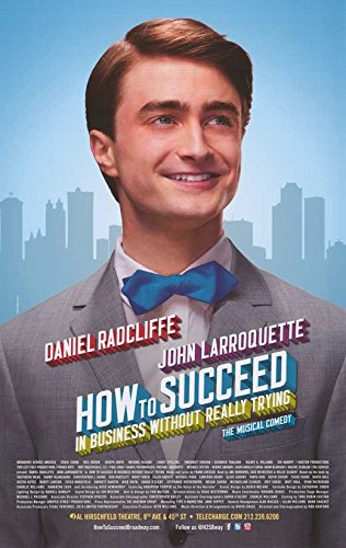 How to Succeed in Business Without Really Trying (Broadway) 11 x 17 Broadway Show (Broadway Show Posters)