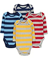 Moon and Back Baby Set of 5 Organic Lap-Neck...