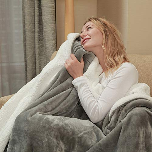 Flannel Fleece Blanket Double Reversible