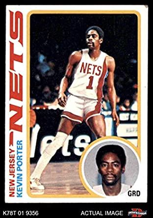 1978 Topps   118 Kevin Porter New Jersey Nets (Basketball Card) Dean s  Cards 4 d1008b57e