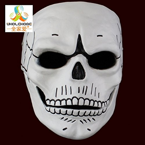 2016* Newest *New Movie 007: Spectre Full Face JAMES BOND Mask GFRP Hand Painted Skull Skeleton Uni Cosplay Props Party Halloween Carnival