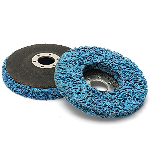 CynKen 5pcs 110mm Polycarbide Abrasive Stripping Disc Wheel Rust And Paint Removal Abrasive Disc by CynKen (Image #3)